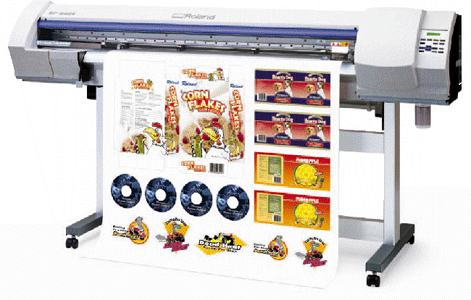 Adhesive vinyl prints from our large format printing section