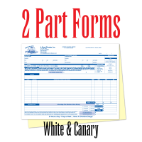 2 Part Carbonless Forms