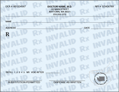 Prescription Pads - We will Design