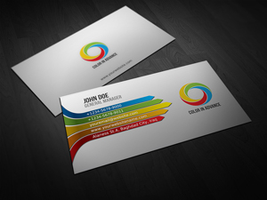 Full color business cards printed with a fast turn time full color business cards colourmoves